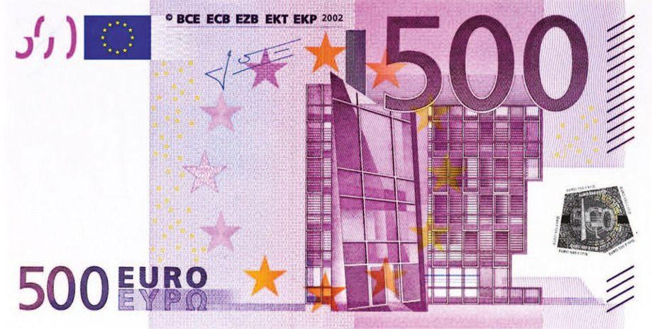 Plan para eliminar los billetes de 500 euros