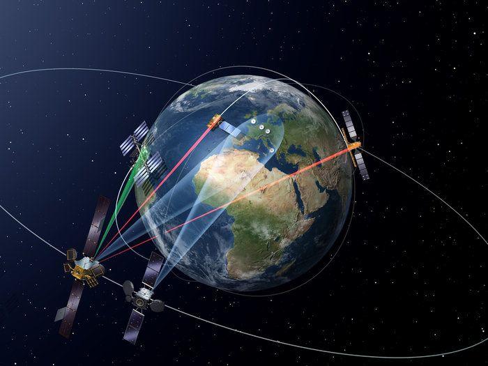 2016-02-17 Europa pone en órbita el primer satélite del EDRS para comunicaciones láser