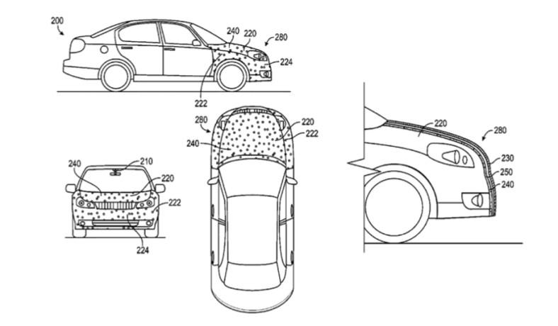 """2016-05-21 Google patenta un """"capó pegajoso"""" para minimizar daños en atropellos"""