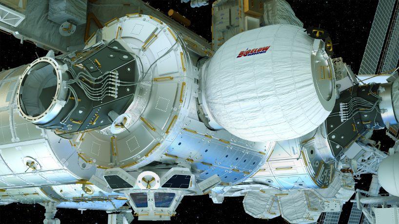 La NASA despliega el primer módulo espacial hinchable