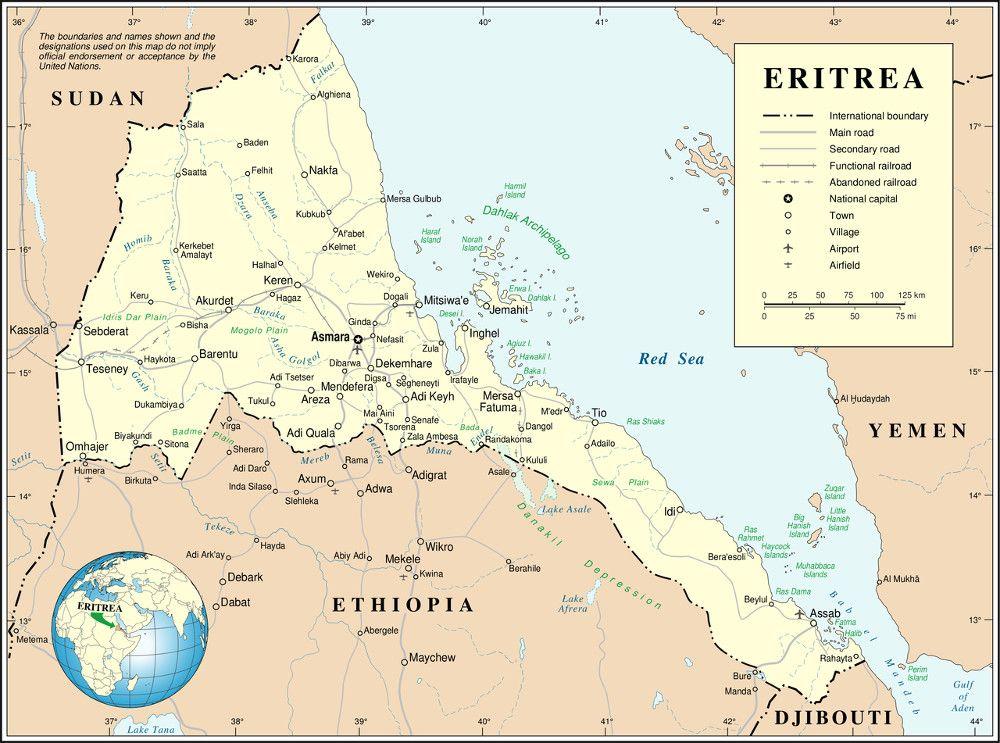 La ONU denuncia 25 años de crímenes contra la humanidad en Eritrea