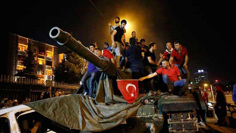 Golpe de Estado fallido en Turquía
