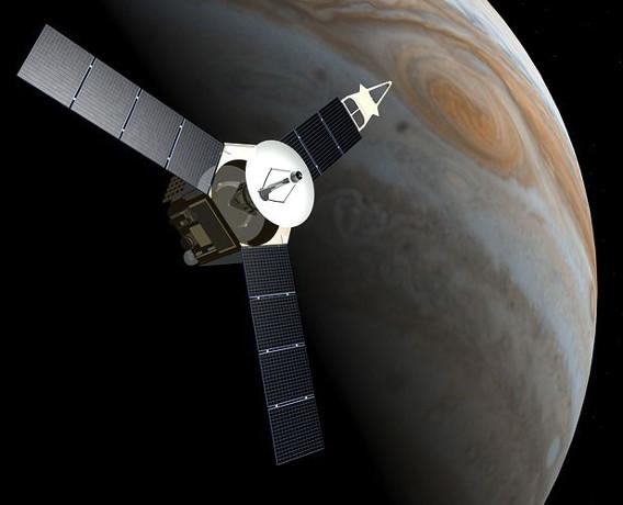 La sonda espacial Juno culmina con éxito su primera aproximación a Júpiter