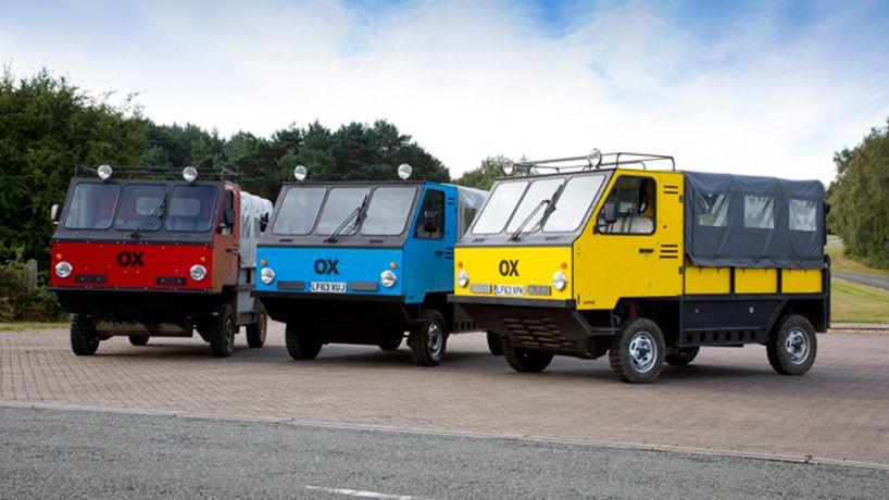 Crean un camión que se vende desmontado como un mueble de Ikea
