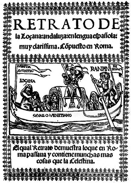 Español, clérigo y putero - La lozana andaluza